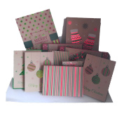 Set of 10 Black Duck Brand Christmas Gift Boxes in 3 Different Sizes