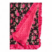 BayB Brand Blanket - Roses and Pink