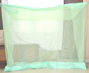 Pf Cali Net Mosquito Net For Single Bed 3X6 Light Green