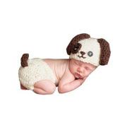 Nurbo Newborn Infant Baby Boy LIttle Dog Photography Prop Costume Cute Cap Pants