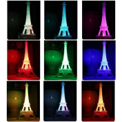 Academyus LED Eiffel Tower Cake Topper Cocktail Table Centrepiece Wedding Birthday by Forbes Favours