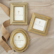 GOLDEN DOTS PHOTO FRAME ASST 3 SHAPES