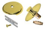 Keeney Manufacturing 61-99DSPB Tarnish Free Quick Cover-Up Tub Trim Kit, Polished Brass, Polished Brass