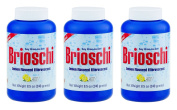 Brioschi Effervescent 250ml (3 Bottles) The Original Lemon Flavoured Italian Effervescent - 3 Bottles