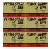 30 Perma-Sharp - Super Double Edge Razor Blades