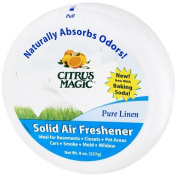 Citrus Magic Solid Air Freshener, Linen Scent 240ml