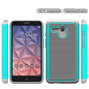 Alcatel OneTouch Fierce XL Case, ARSUE [Shock Absorption] Hybrid Dual Layer Armour Defender Protective Case Cover for Alcatel OneTouch Fierce XL,Mint