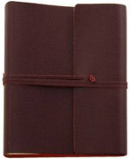 Burgundy Saffiano Extra Large Leather Photo Album by Coles Pen Company