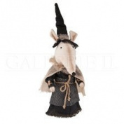Halloween Fabric Witchy Mouse Doll Figure, 50cm .