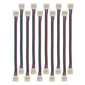 Radiance RAD-0002 5050 RGB LED Strip 4 pin, 10mm Wide Quick and Easy Connecting Light Connectors
