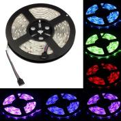 Kemilove 5m RGB 5050 SMD waterproof 300 LED Light Strip Flexible + IR Remote 12V