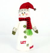 Sandistore Christmas Decorations Santa Claus Snowman Family Christmas Strap
