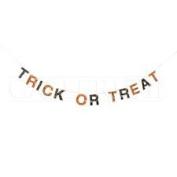 Halloween Paper Trick or Treat Garland, 120cm .