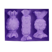 Baidecor Lovely Candy Shape Silicone Chocolate Moulds Soap Mould