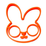OUMOSI Cute Rabbit Silicone Mould For Eggs Kitchen Gadget Eggs Ring Pancake Mould Cooking Tools Surprise Eggs Fried Mould