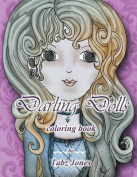 Darling Dolls Coloring Book