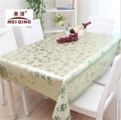 GAW Waterproof and Oil-Proof Thermostability PVC Disposable Tablecloths for Restaurant and Home nl,137*137cm