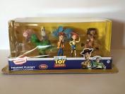 Disney Store Toy Story Heroes Figurine Playset - Set of 8 Figures
