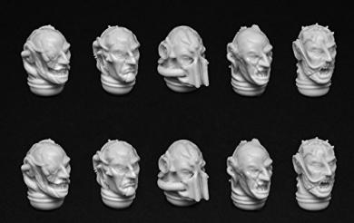 Kromlech Conversion Bitz: Chaos Bare Heads