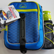 AZ Pro High Performance Dual Compartment Lunch Pack, Royal Blue/Lime