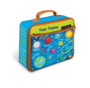Personalised Crocodile Creek Eco Kids Solar System Insulated Lunch Box - 25cm