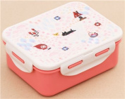 cream pink Little Red Riding Hood Bento Box Lunch Box from Japan