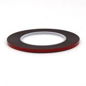 Shinymod Special Acrylic Adhesive Sticker Double Sided Foam Tape Industrial Strength Shockproof Weatherproof Dustproof Seal Mounting Tape 0.3mm x 5mm x 20m
