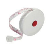 1Pc Measuring Retract Tape Ruler 150cm English Metric Tool Measure Sewing Tailor