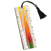 Birch Trees in Autumn Printed Bookmark with Tassel