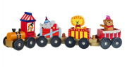 Orange Tree Toys Vintage Circus Animal Train Large