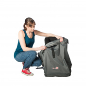 Super Strong Deluxe Car Seat Travel Bag With Backpack Straps And Reinforced Padded Bottom For Extra Protection
