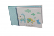 """Baby Photo Album 4 x 6 Brag Book """"Lullaby Boy"""" - Baby Shower Gifts, - Holds 24 Precious Photos, Acid-free Pages"""