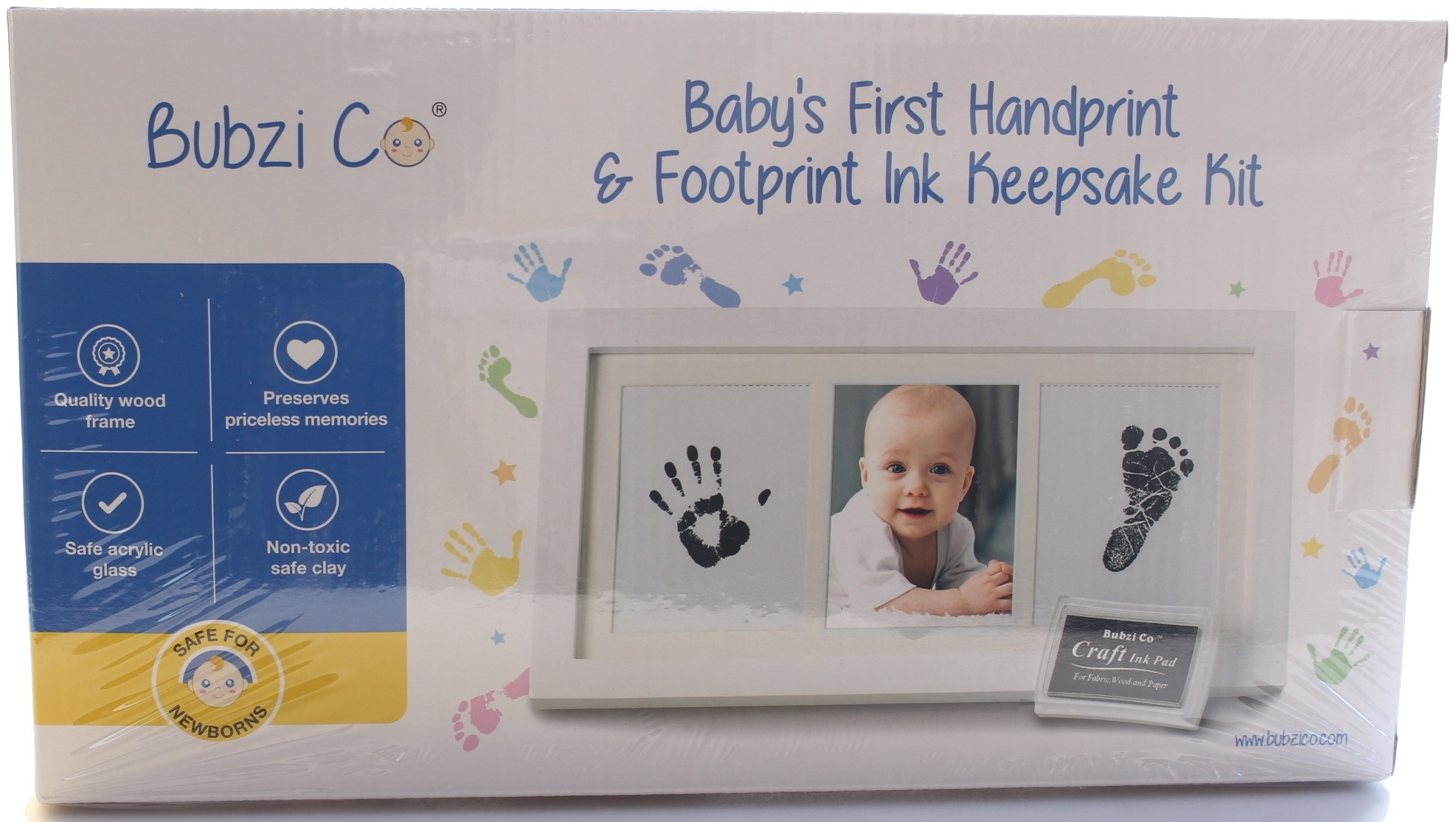Baby handprint kit baby buy online from fishpond com au