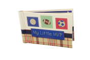 """Baby Photo Album 4 x 6 Brag Book """"My Little MVP"""" - Boy / Girl Baby Shower Gifts, - Holds 24 Precious Photos, Acid-free Pages"""
