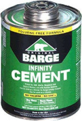JWONG Barge Infinity Cement All Purpose Clear One Quart