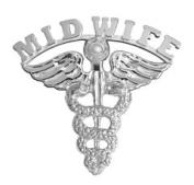 NursingPin - Midwife Graduation Pin in Sterling Silver