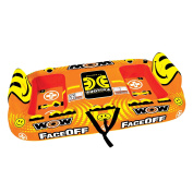 WOW World of Watersports, 15-1050, Face-Off Towable, Ride Face to Face, 1 to 4 Person