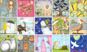 Dream Little Messages of Peace 12 Assorted Note Cards and Envelopes