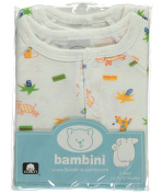 """Bambini Baby Boys' """"Happy Animals"""" 2-Pack Gowns - white, 0 - 12 months"""