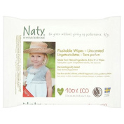 Naty Eco Flushable Toilet Wipes 42 per pack