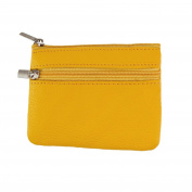 Eleery Unisex Leather Wallet Card Coin Key Holder Purse Clutch