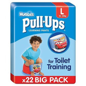 Huggies Large Pull-Ups Boy Economy 22 per pack
