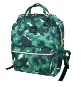 LCY Waterproof Muti-functional Oxford Cloth Baby Nappy Changing Bag Tote Backpack Bag Camouflage