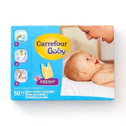 Carrefour Baby Nappy Sacks Fresh 50 per pack