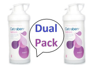 Cetraben Lotion 500ml x 2 - **TWIN PACK DEAL** SUPER SAVING