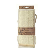 Hydrea London Bamboo & Loofah Exfoliating Back Strap
