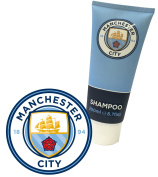 Manchester City FC Shampoo - Official Licenced Product. New Manchester City Merchandise with Latest 2016 Crest. 200ml Sports Shampoo with revitilising fragrance.