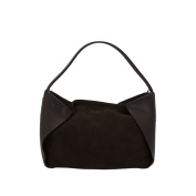 Soft Leather Suede Handbag