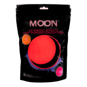 Moon Glow - 400g UV Paint Powder Red - Neon Special Effects Paint Party Powder Concentrate - Makes up to 40 Litres!