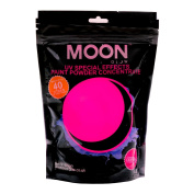 Moon Glow - 400g UV Paint Powder Pink - Neon Special Effects Paint Party Powder Concentrate - Makes up to 40 Litres!